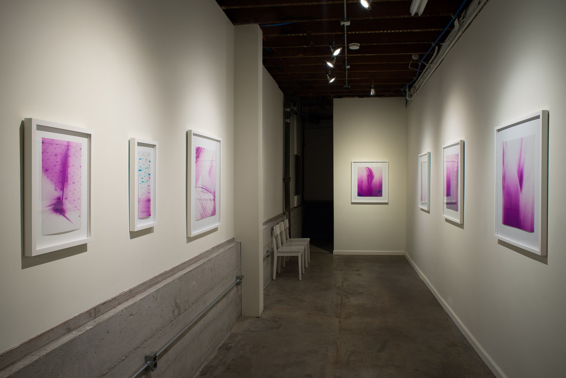 Measuring visual disturbances  (solo exhibition)   Black Crown Gallery Oakland, California 2016