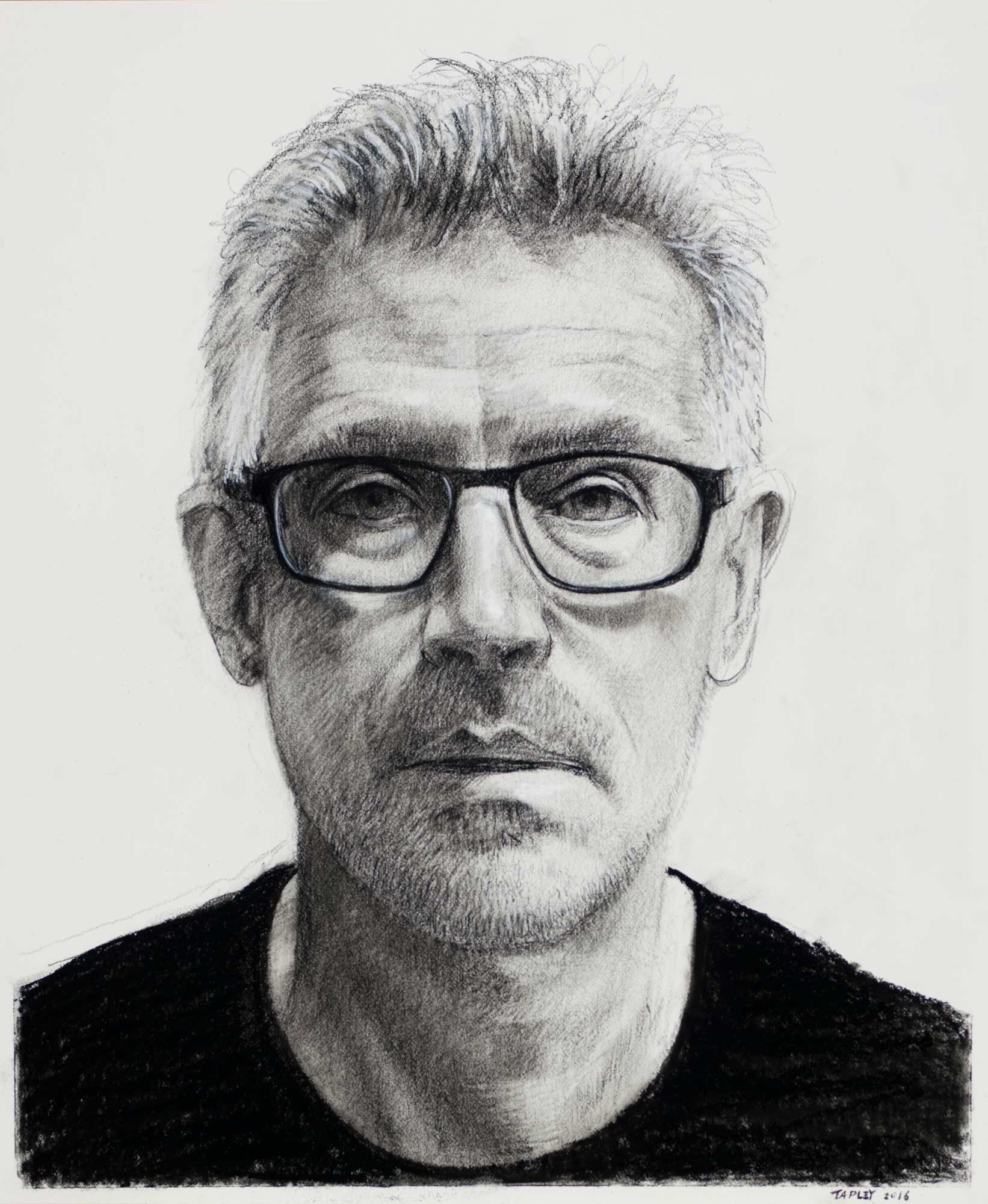 Self-Portrait, October 2016
