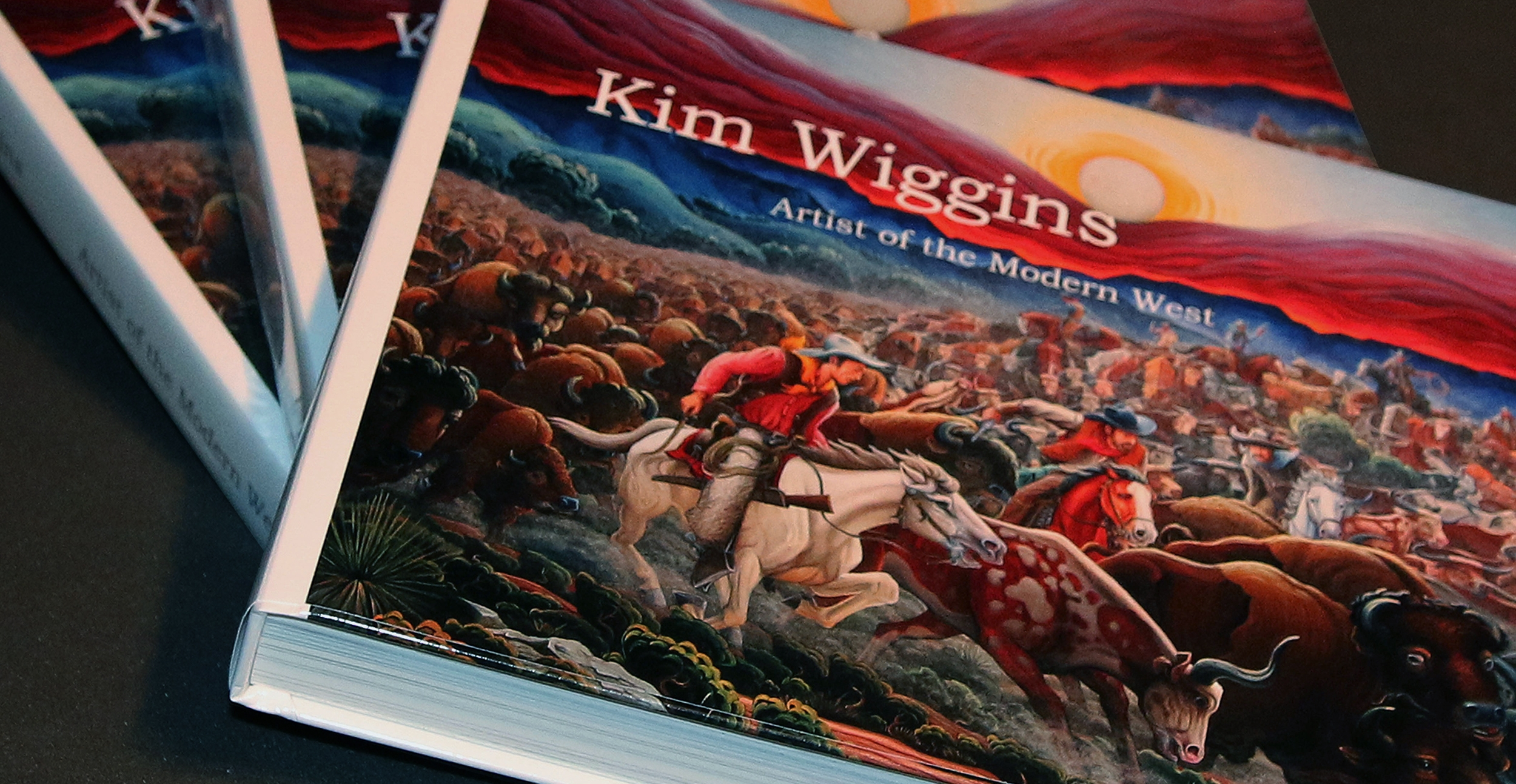 New Book:  Join the artist in Santa Fe this summer for the opening of his one-man show and preview of his new book,  Kim Wiggins, Artist of the Modern West . Friday, August 2rd, 2019, at Manitou Galleries of Santa Fe. (Book signing from 5 pm to 7 pm).