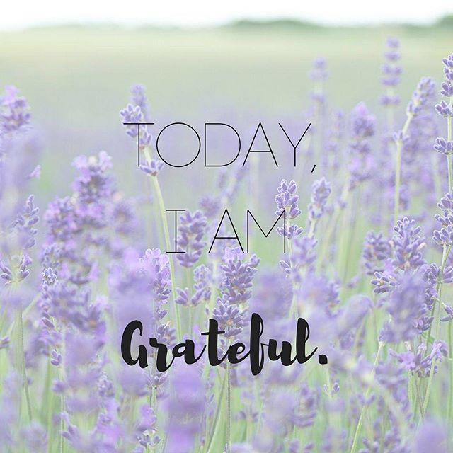 Simple affirmations make all the difference 💜 #grateful