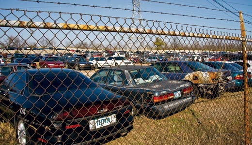 If You Want to See Inequality in the U.S. at Its Worst, Visit an Impound Lot -
