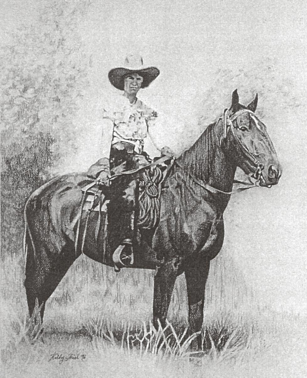 Lady on a Horse.JPG