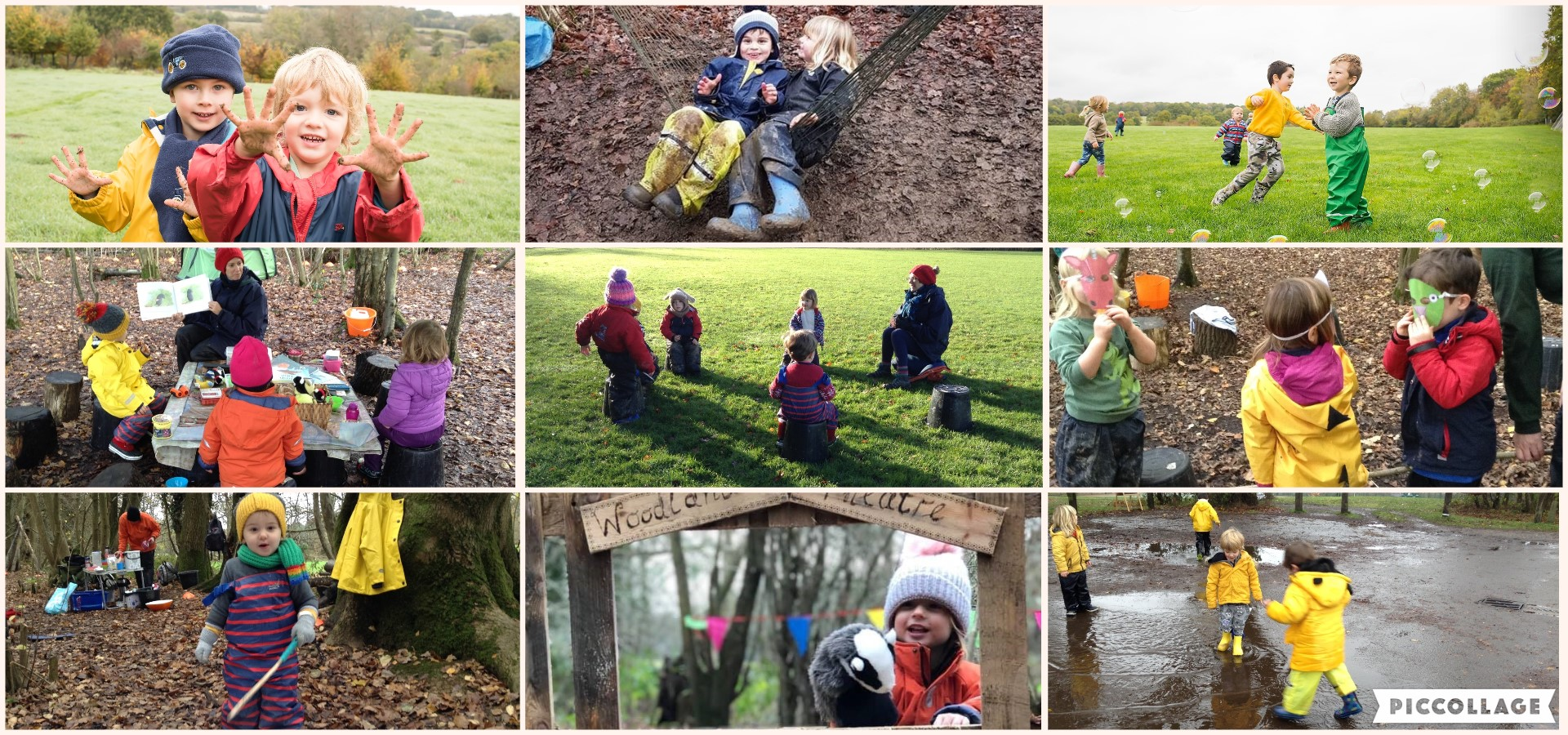 A snapshot of our first term at Treehoppers!
