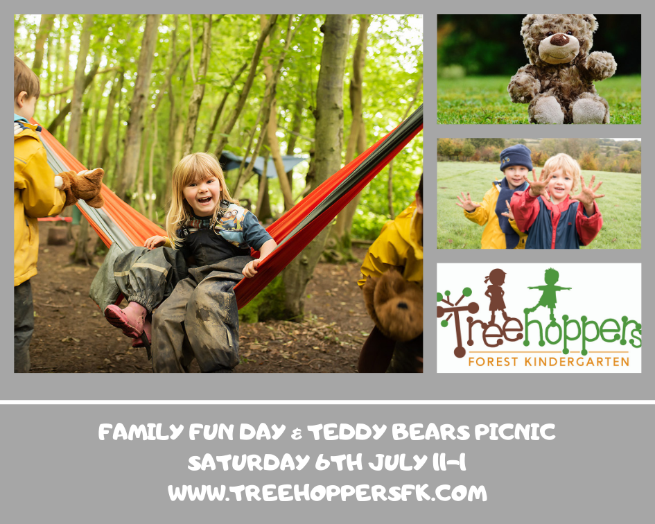 •Family Fun Day Treehoppers Forest Kindergarten East Grinstead