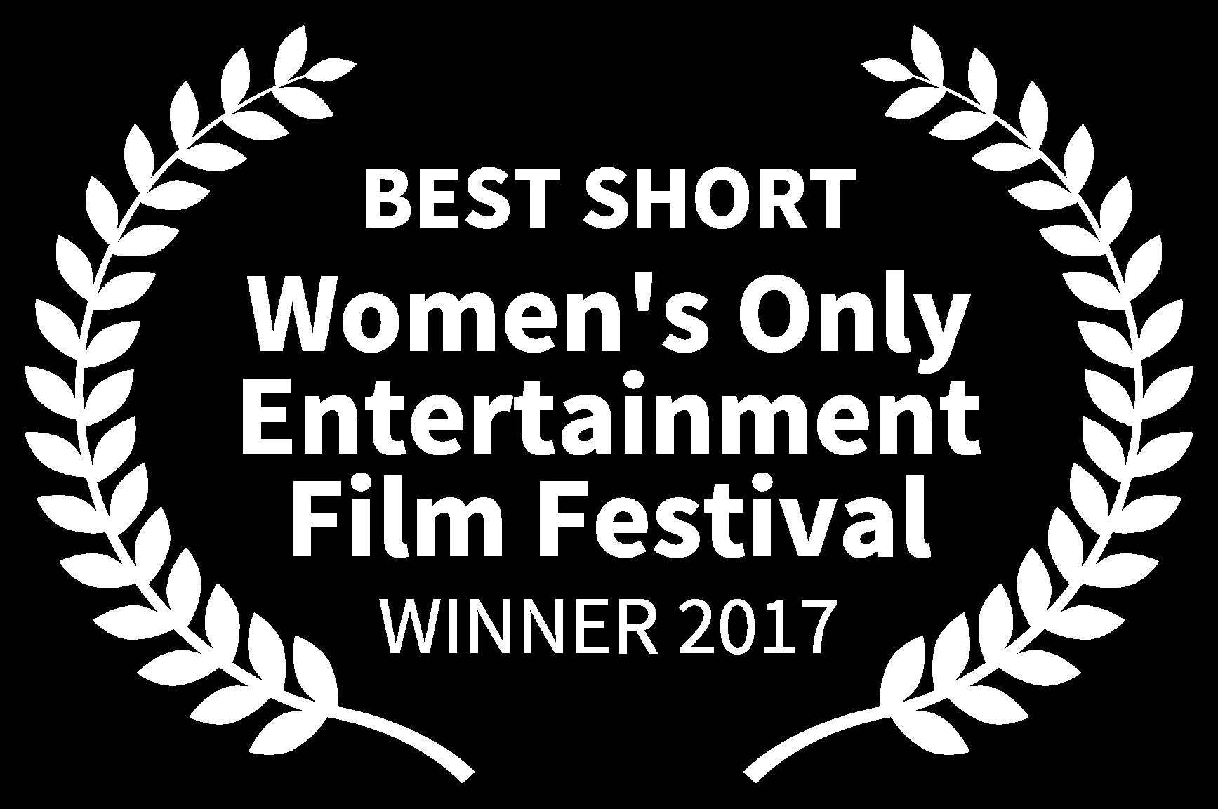 BEST SHORT - Womens Only Entertainment Film Festival - WINNER 2017.png
