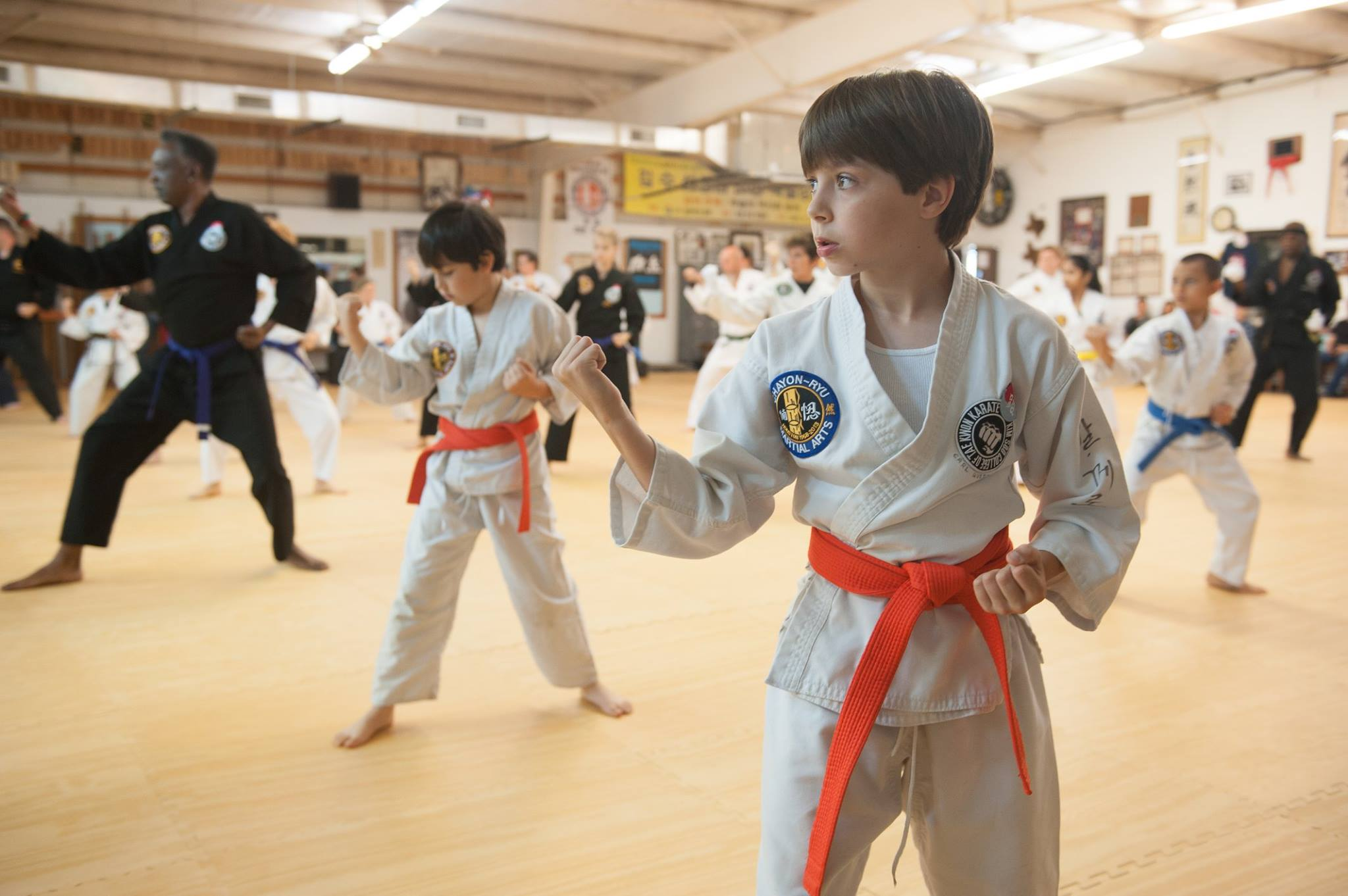 Mixed Ages and Family Karate