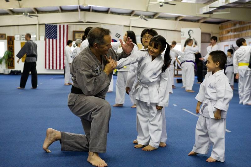 Advanced Belts Help Teach