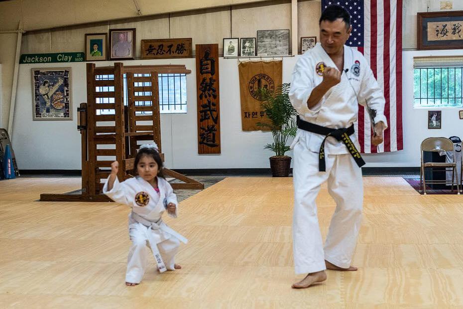 Master Sean Kim teaching