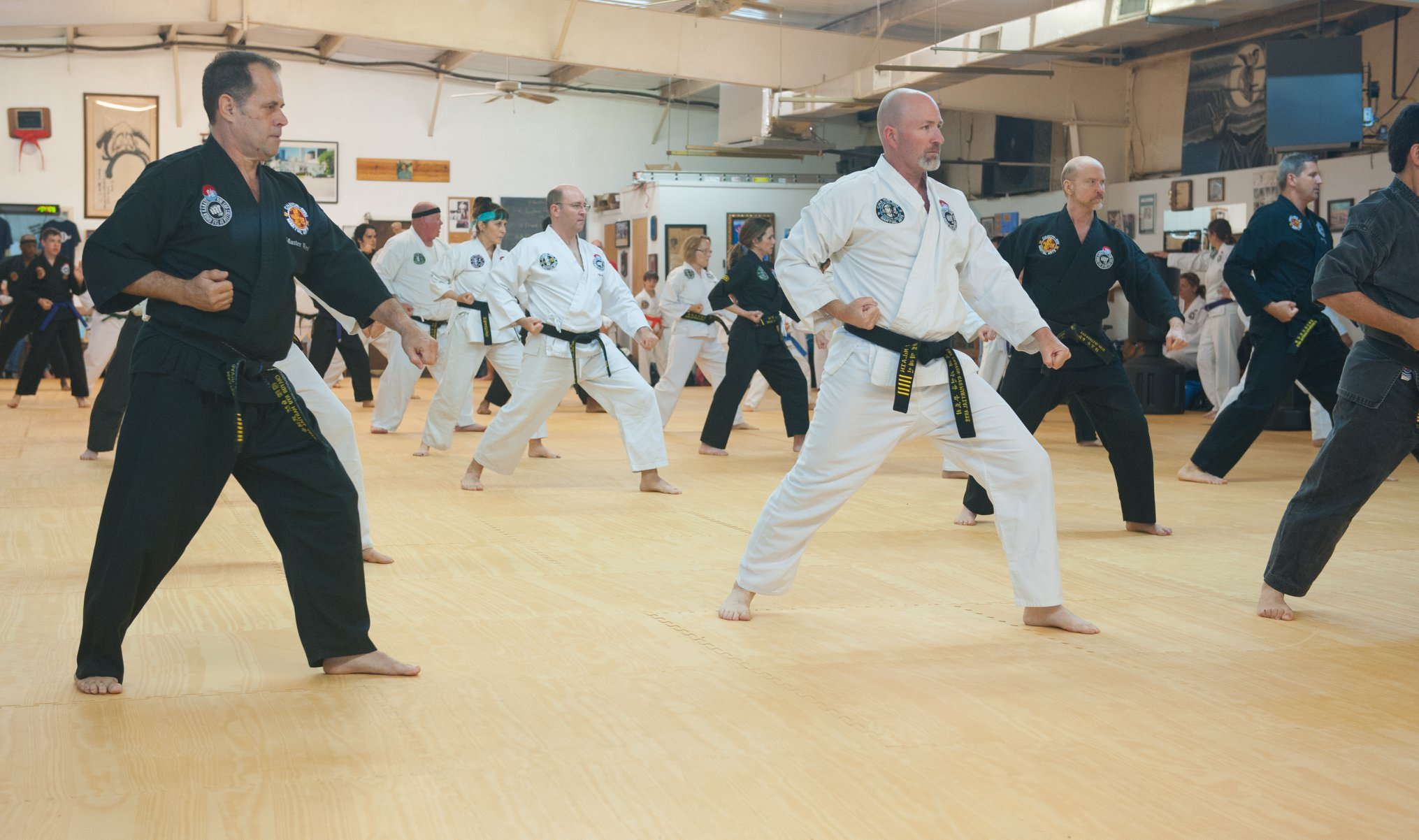Kim Soo Karate Black Belts