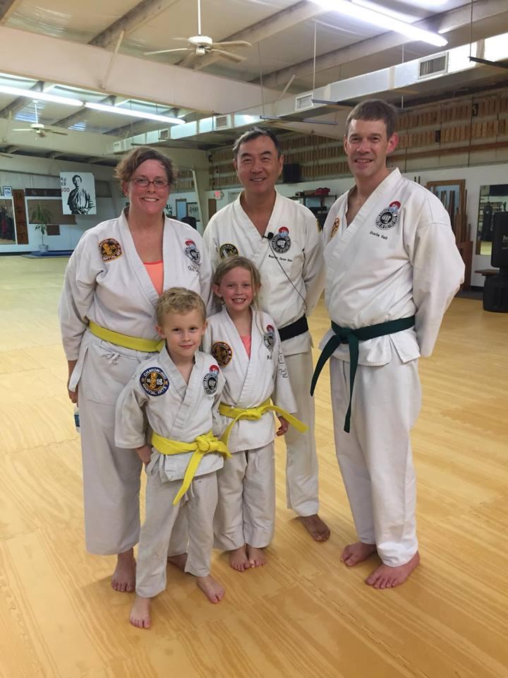 Families Train Together at Kim Soo Karate