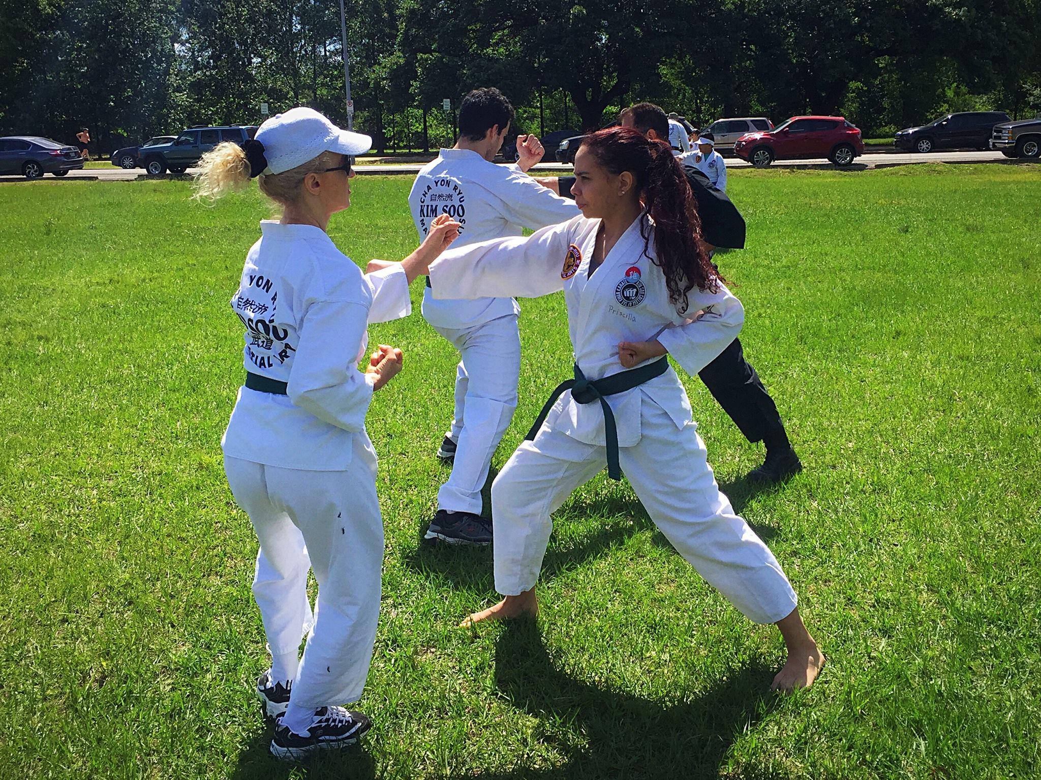 Outdoor Training at Memorial Park