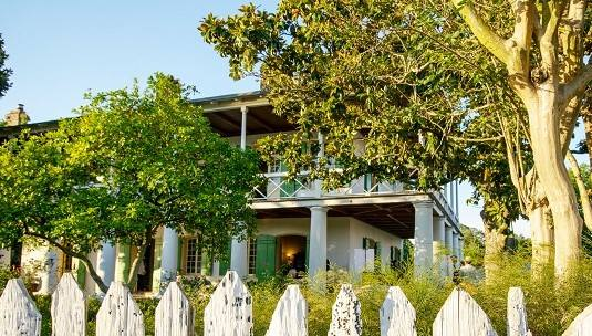 Secret's out: Spring is a beautiful time to visit us on Bayou St. John.