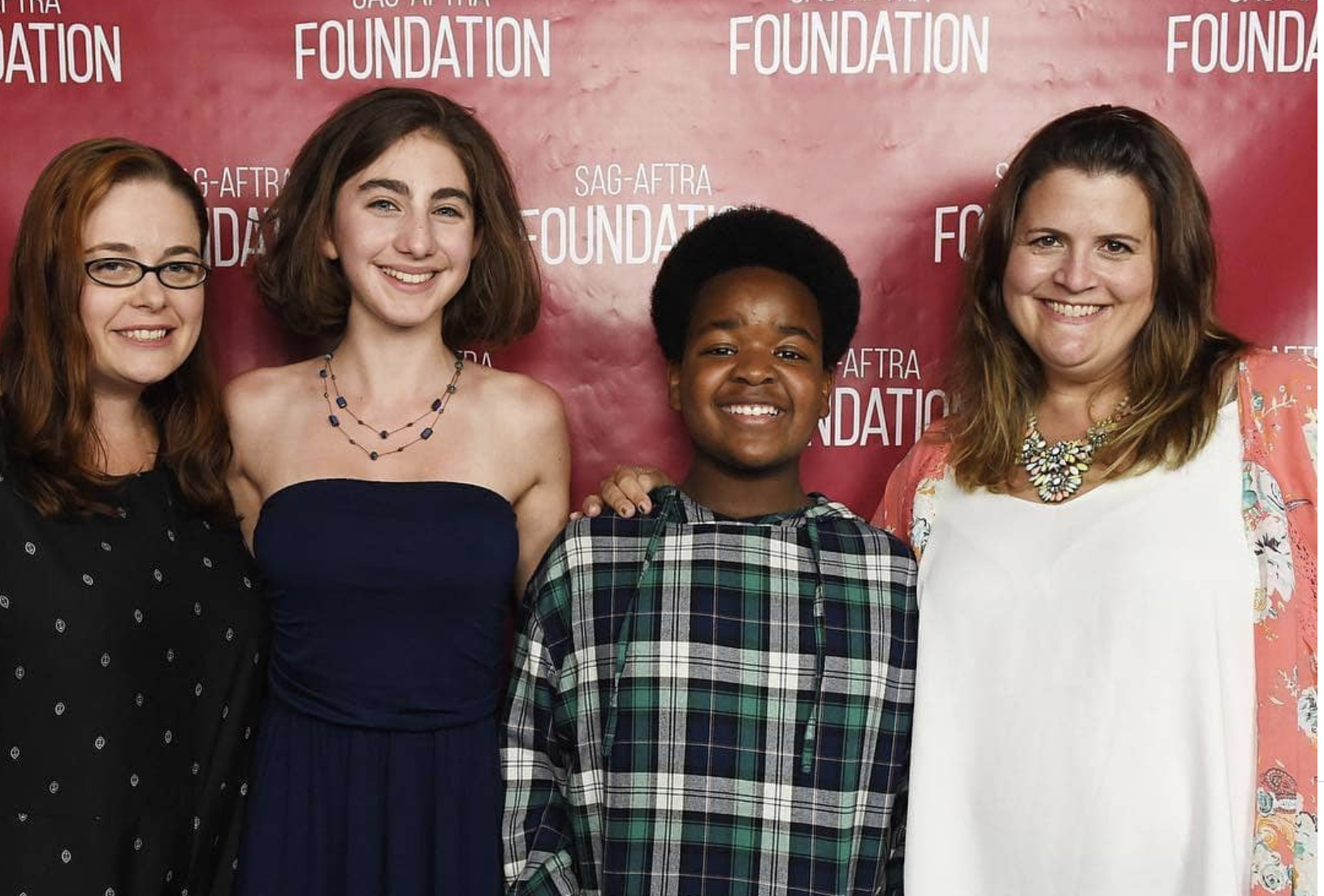Producer Lacey Leavitt, actress Sophia Mitri Schloss, actor Keith L. Williams, and writer/director Megan Griffiths at the SAG-AFTRA Foundation LA screening, Photo credit: Amanda Edwards/Getty Images