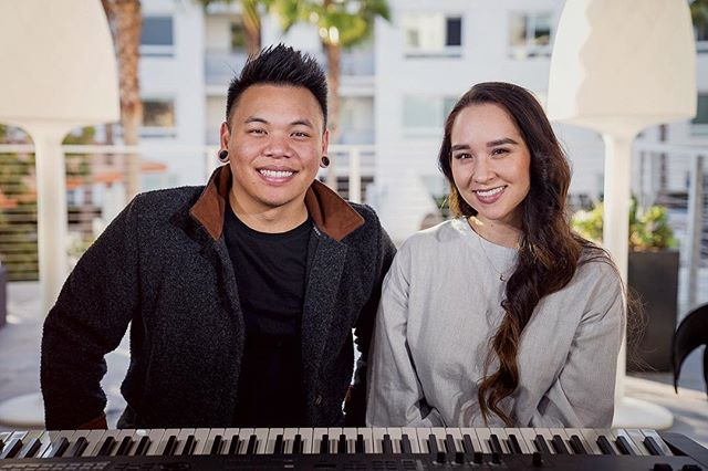 "⁣Two of the best parts of the great years of @youtube ⠀ ⠀ Happy 10 years @ajrafael on ""She Was Mine""... literally the only song I remember how to play on guitar without fail. ⠀ ⠀ 📸 - @davidjypark"