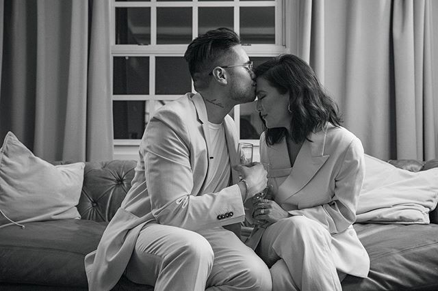 ⁣Couldn't think of a better time 💍⠀ Congrats and love you both @allymaki And @travisatreo⠀ ⠀ 📸 -  @davidjypark⠀ ⠀ ⠀