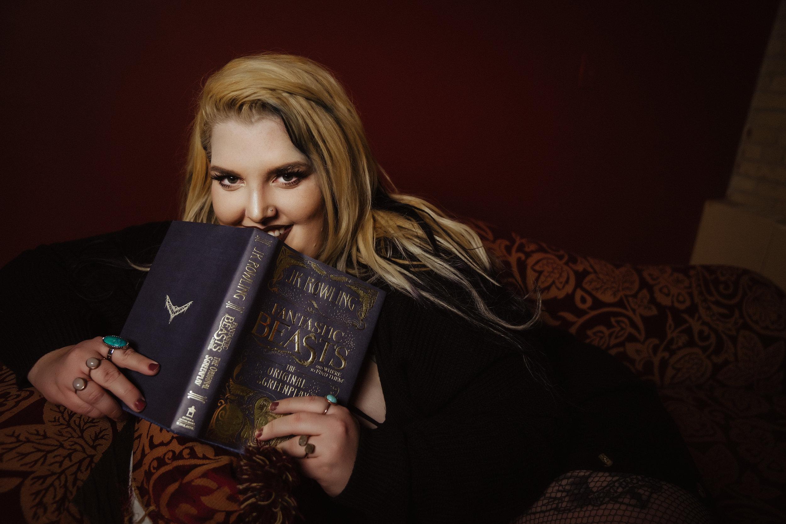 books and boudoir