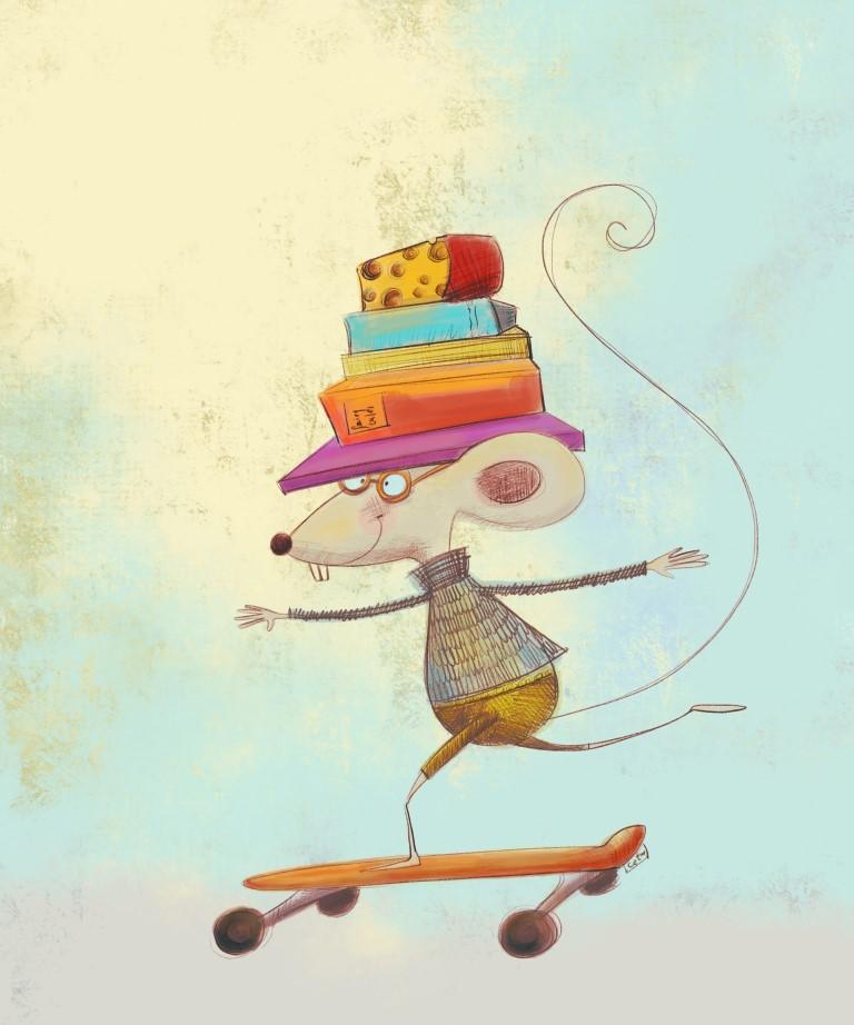 raton en patineta con libros (Medium).jpg
