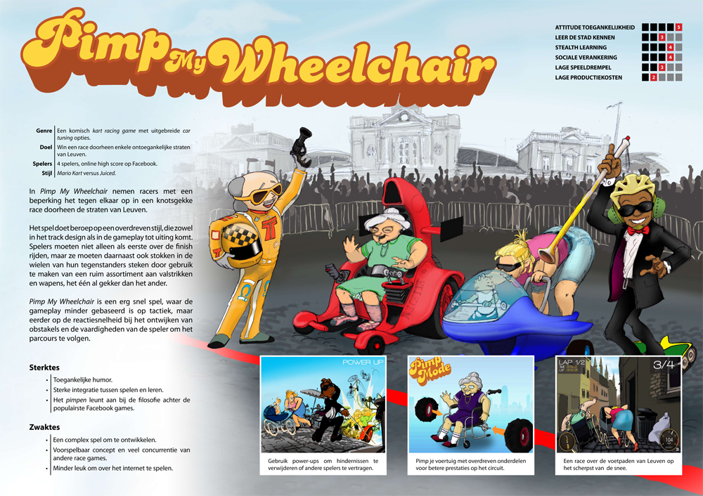 Pimp my Wheelchair - Concept Poster