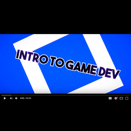 Intro to Game Dev (2016)