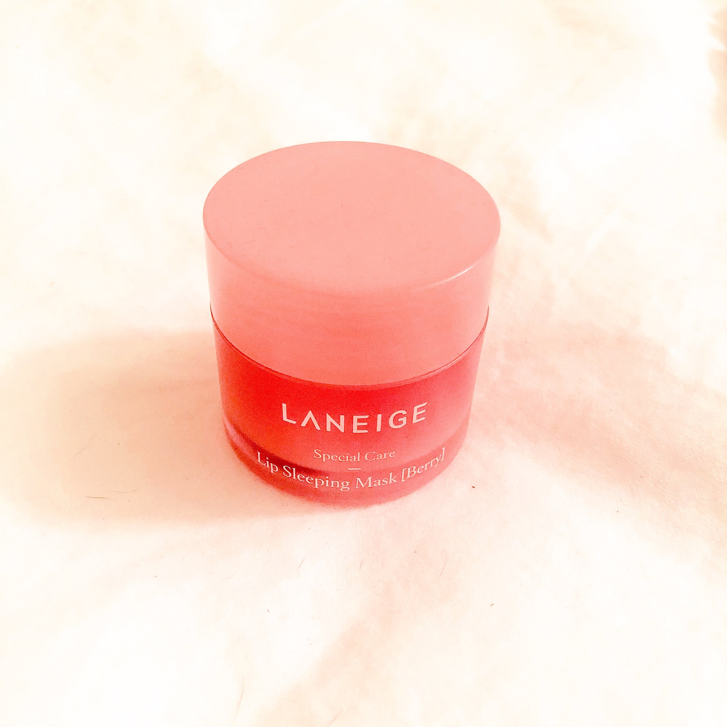 Very Berry (my fave) lip mask