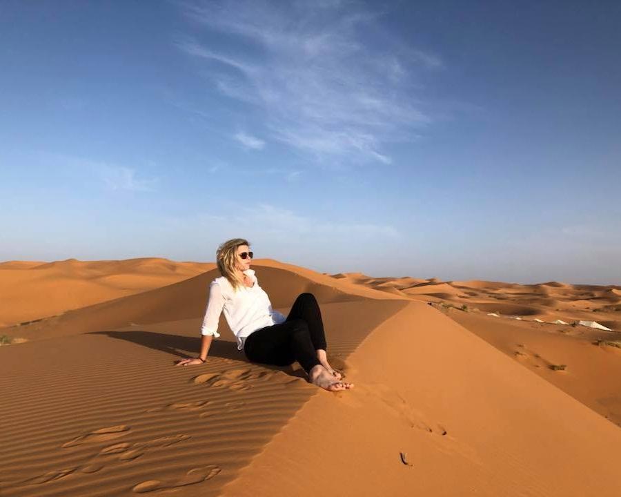 sand dune peaks