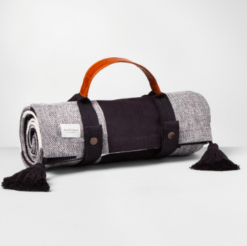 Picnic Blanket - All perfect for dinners on the beach...and from...who else...Joanna Gaines and her Hearth & Hand with Magnolia Line at Target. <3 <3 <3