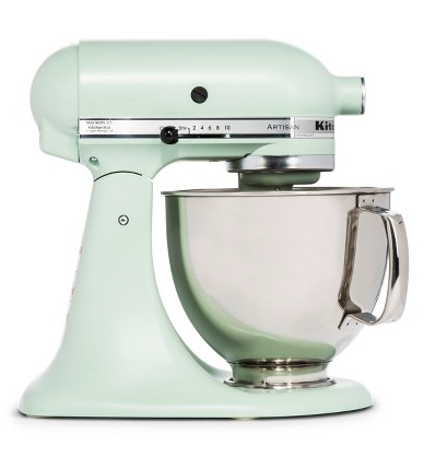 Fun fact:  Target sells REFURBISHED stand mixers  for a significantly reduced price than a brand new one.