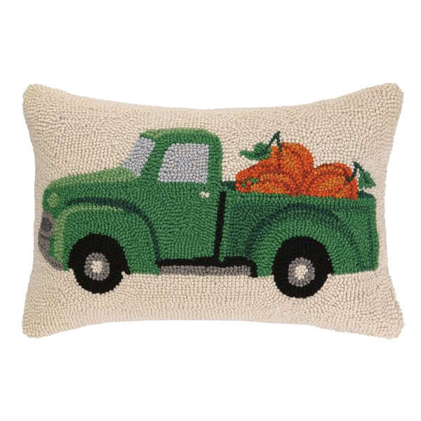 Must Have:1-5 Fall Pillows - Let's be real here, it's hard to buy JUST ONE seasonal pillow! Especially when you're in the pillow AISLES at Home Goods. This cutie is from Kohl's for a steal and the green truck pictured here is more of a splurge from Wayfair.