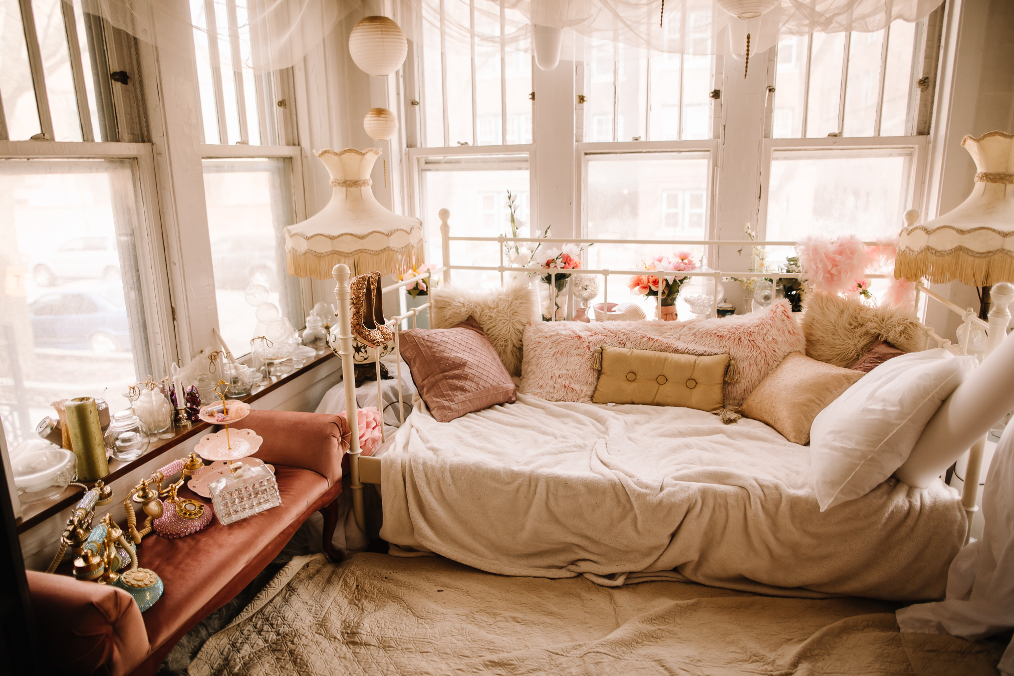 This room had so many beautiful little touches!