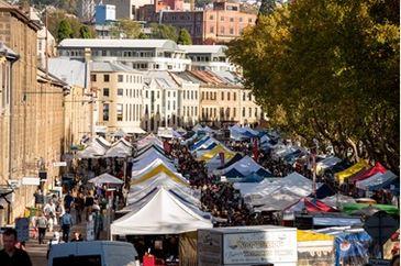 Salamanca Market - Discover amazing things Saturday 8.30 to 3.00
