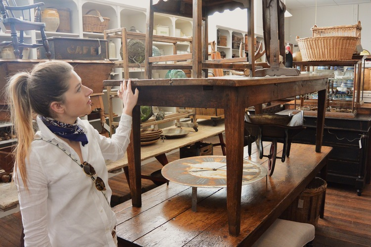 - Antique shopping in the many spots in New Norfolk. From upmarket to down right quirky.