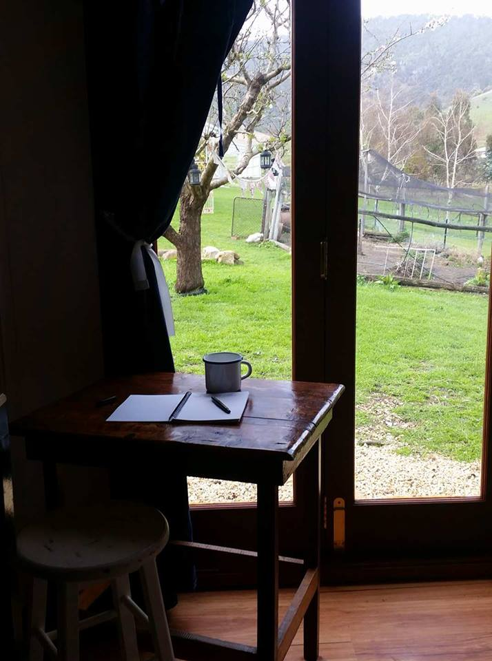From inside The Farm Shack -