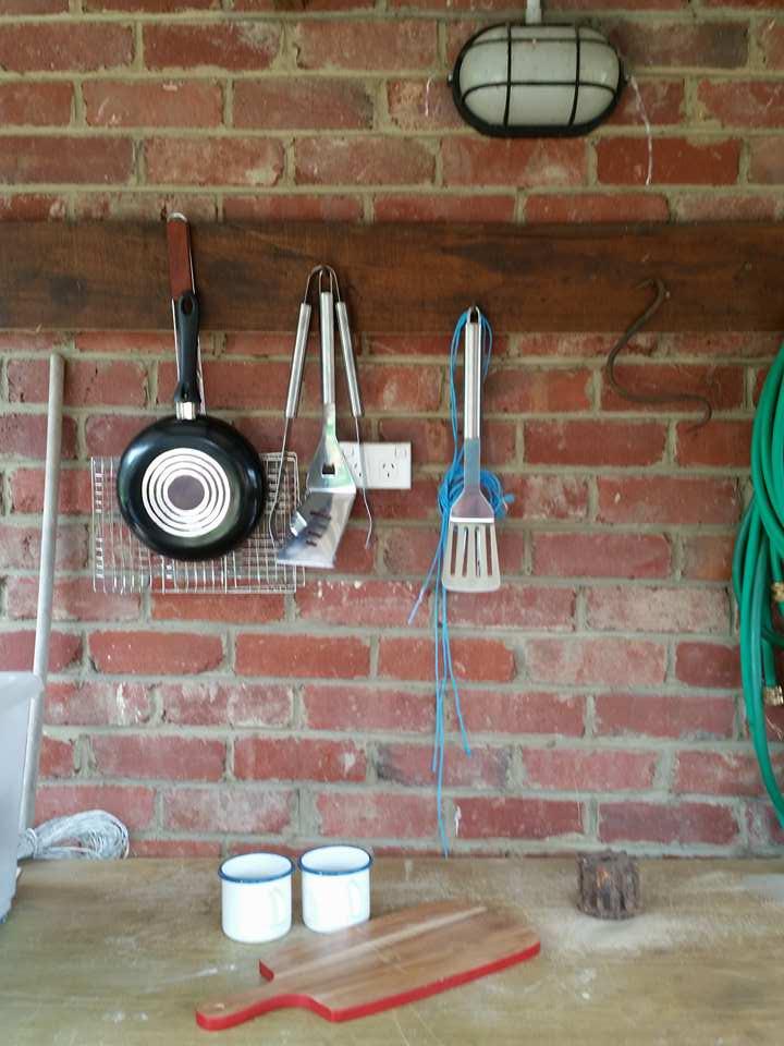 The Farm Shack BBQ equipment -