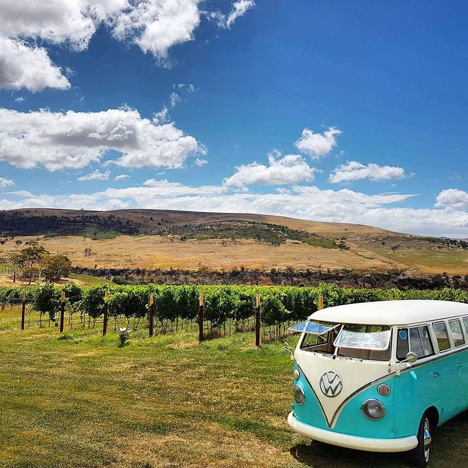 Kombi Krew - Travel in style with our 1966 Splitscreen Kombi. Kombi Krew have a range of services including Packaged Tours, Chartered Tours, Limousine Services, Transport for Events and Leavers Dinners. Our drivers and vehicles are fully licensed, accredited and insured.