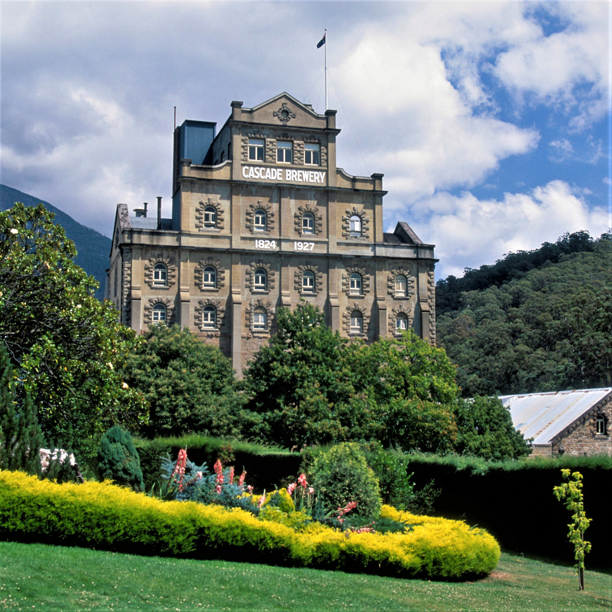 Cascade Brewery - Established in 1824 it is the oldest continually operating brewery in Australia.Nestled at the foot of kunanyi/Mount Wellington in a beautiful building surrounded by lush gardens.