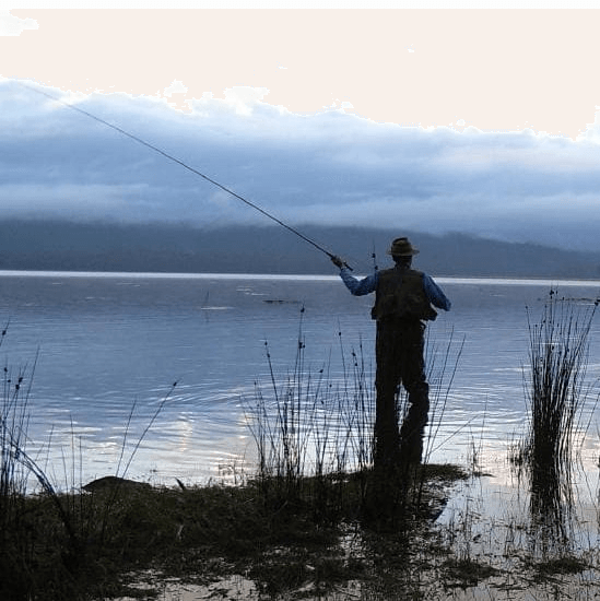 Fishing the Derwent - The area from the rapids above New Norfolk down to Granton is a popular spot for targeting trout, especially when the sea runners are about.