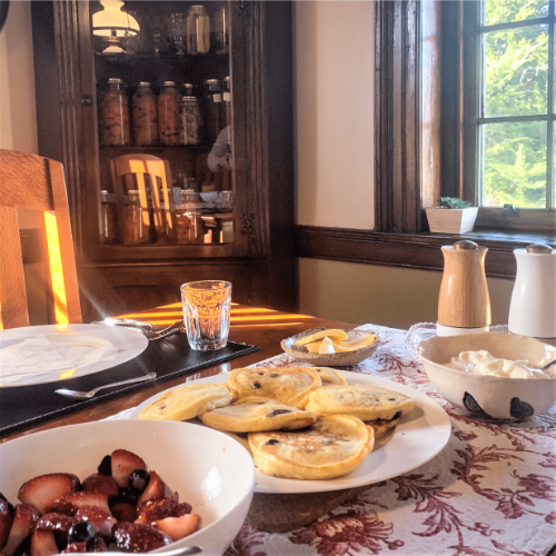 Breakfast | New Norfolk Accommodation | Stanton Farmhouse