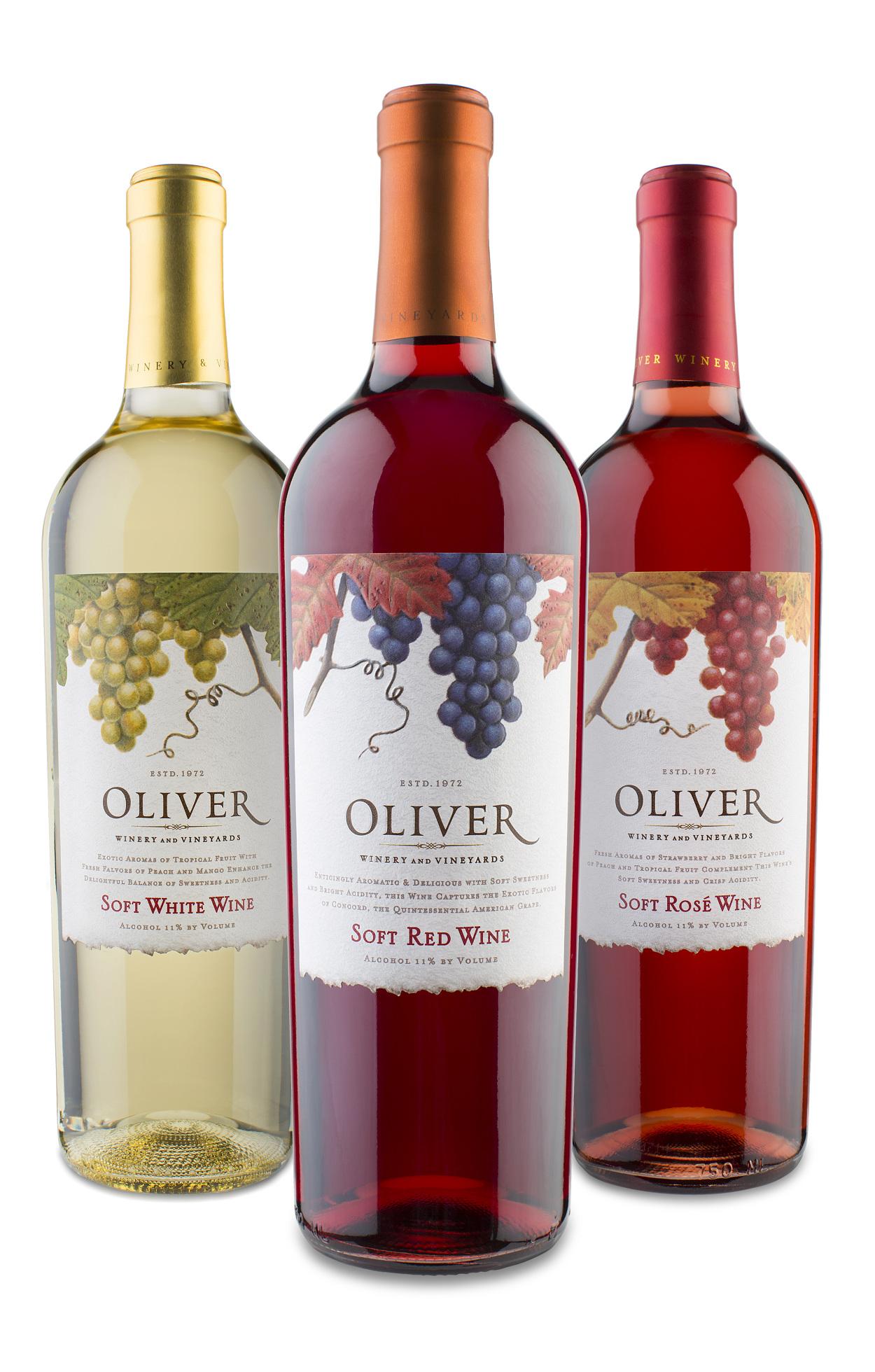 oliver soft wine family