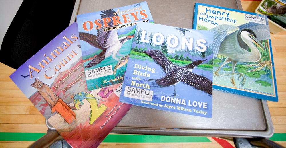 Love has a wide variety of children's books which focus on nature and wildlife.