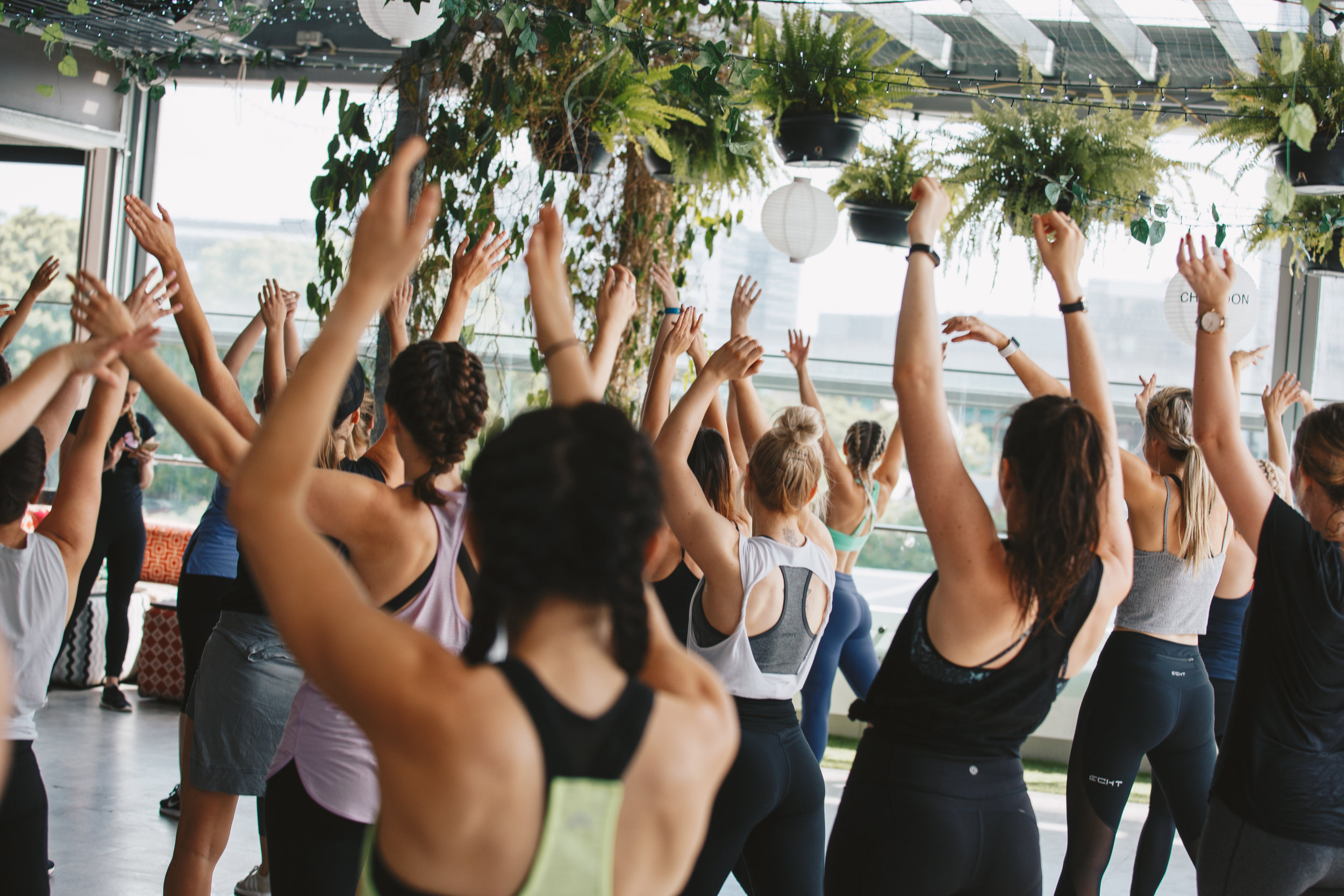 Skyline Sweat - Saturday 2 December at Up on Constance in Fortitude ValleyDance Cardio class with Katie Dickens from Dance Barre & Pilates with That Pilates Passion