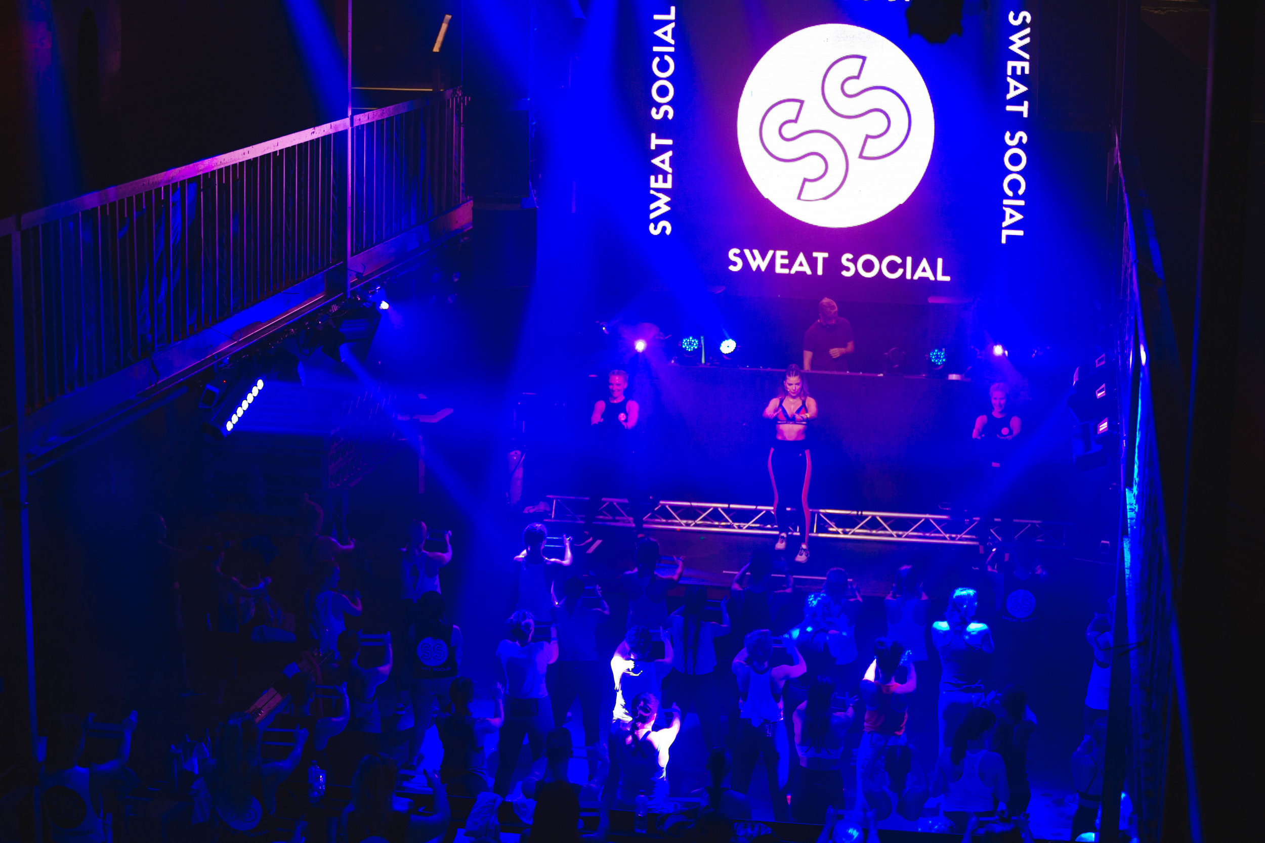 Sweat at the Met - Sunday 25 March at The Met Nightclub in Fortitude ValleyBooty workout with New York based fitness influencer Sweat with Bec