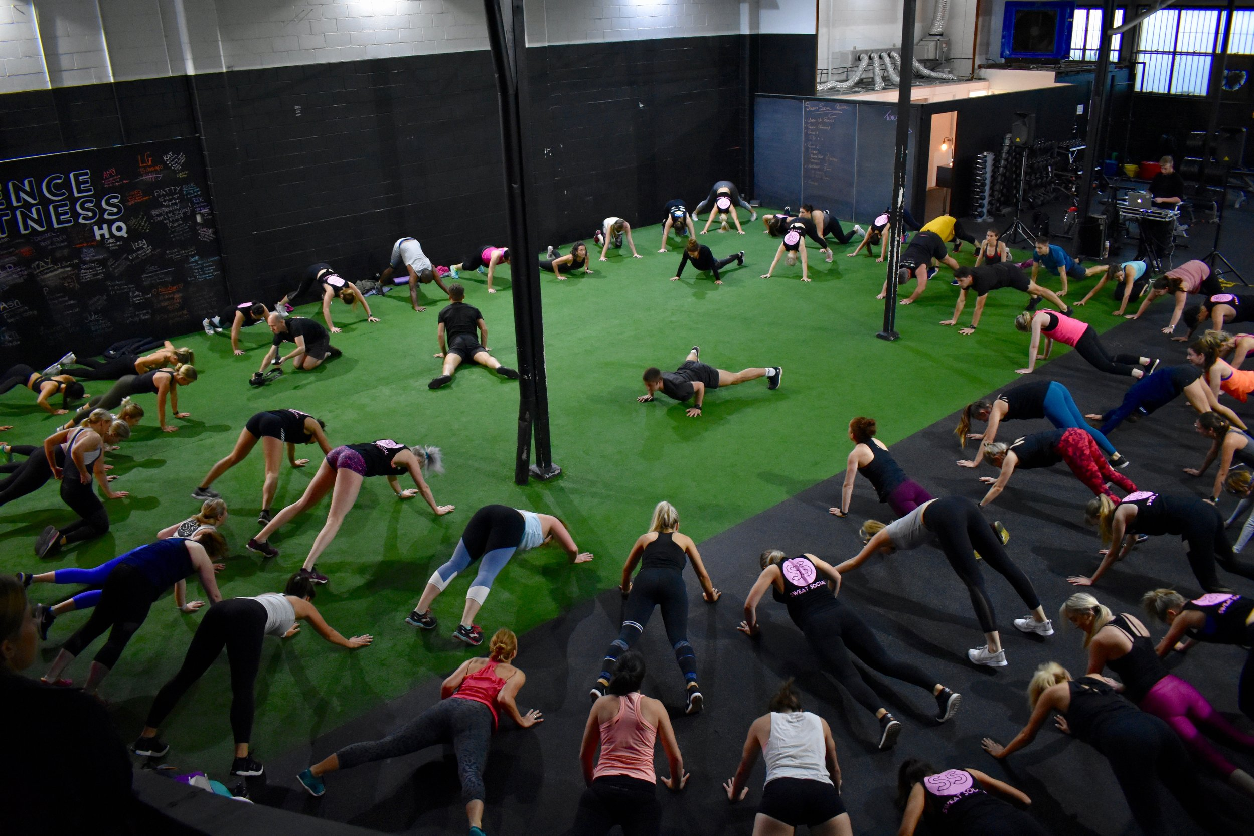 Sweat & Reset - Sunday 29 July at SOF in South Brisbane'Primal' class with Science of Fitness, yoga with Dr Laura Elliot & SS Wellness Chats.