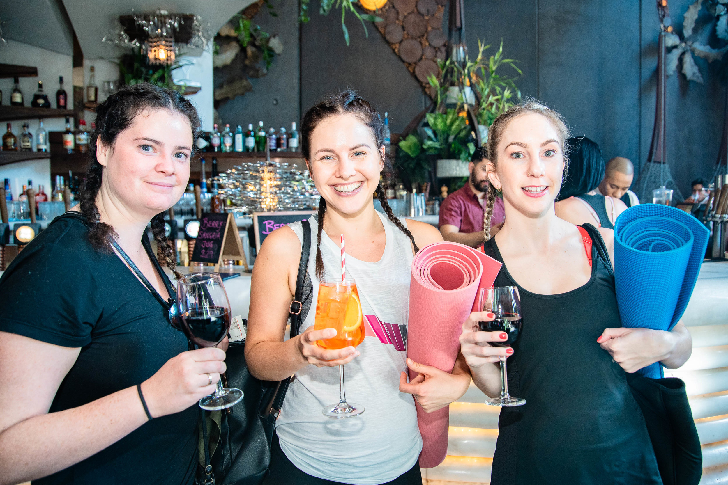 Workout Wine Down - Sunday 2 September at Cloudland in Fortitude ValleyYoga Flow with Tyler Eve & SS Happy Hour by Sofi Spritz