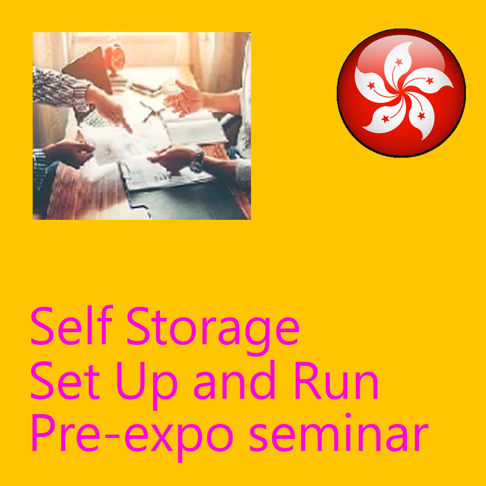 May 16 - Self Storage Set Up and Run Pre-expo Seminar