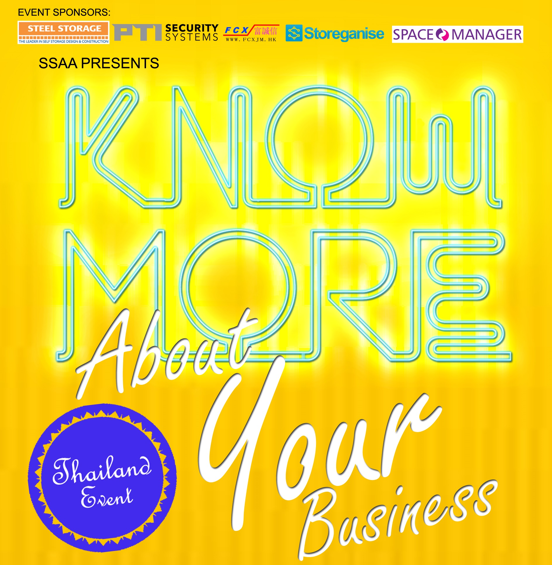 Mar 5 Bangkok - Know More About Your Business