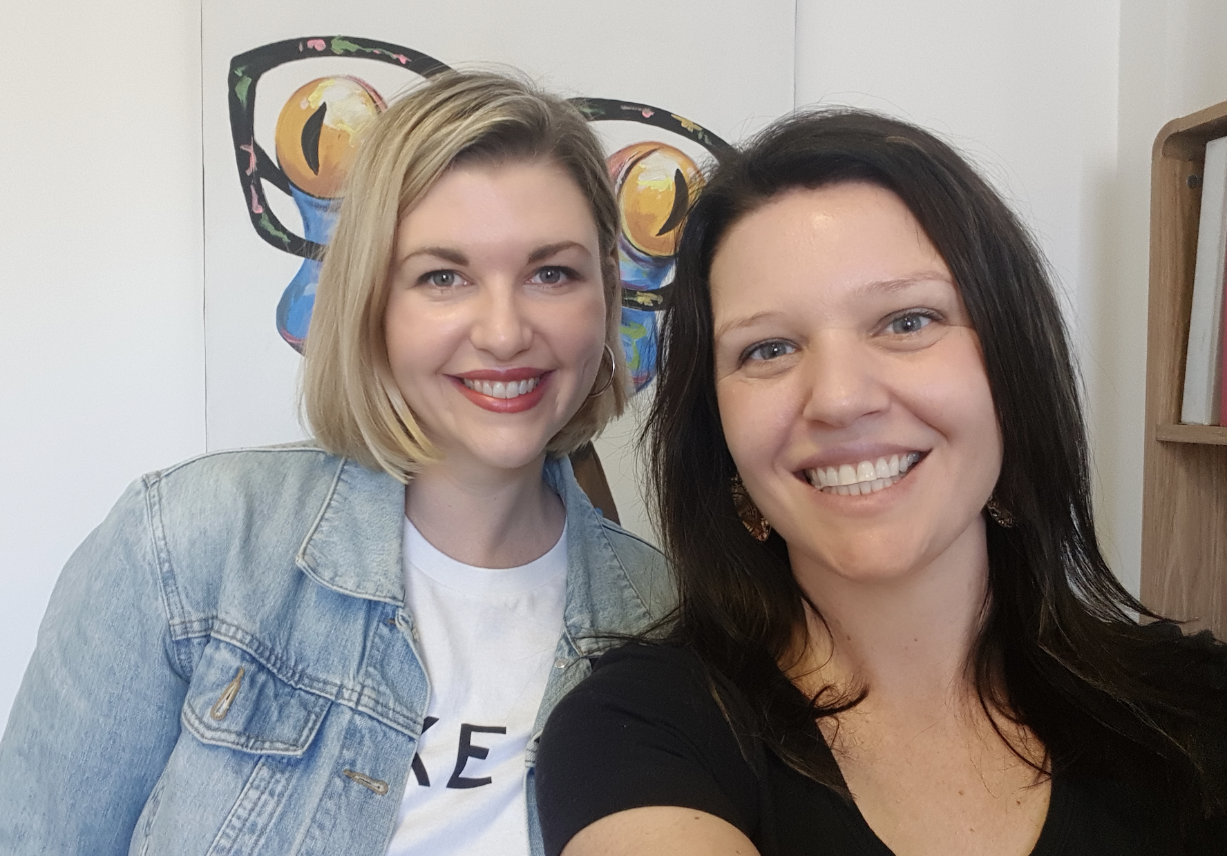Laura and Jackee The Busy Mum Podcast