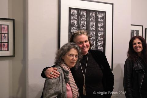 Jill Furmanovsky with Lucy Bell