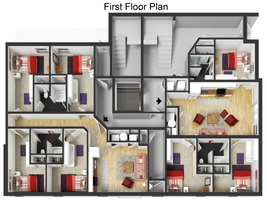 apartment layout Chattanooga TN