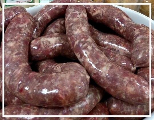 Homemade Sausage - $3.99/lb.