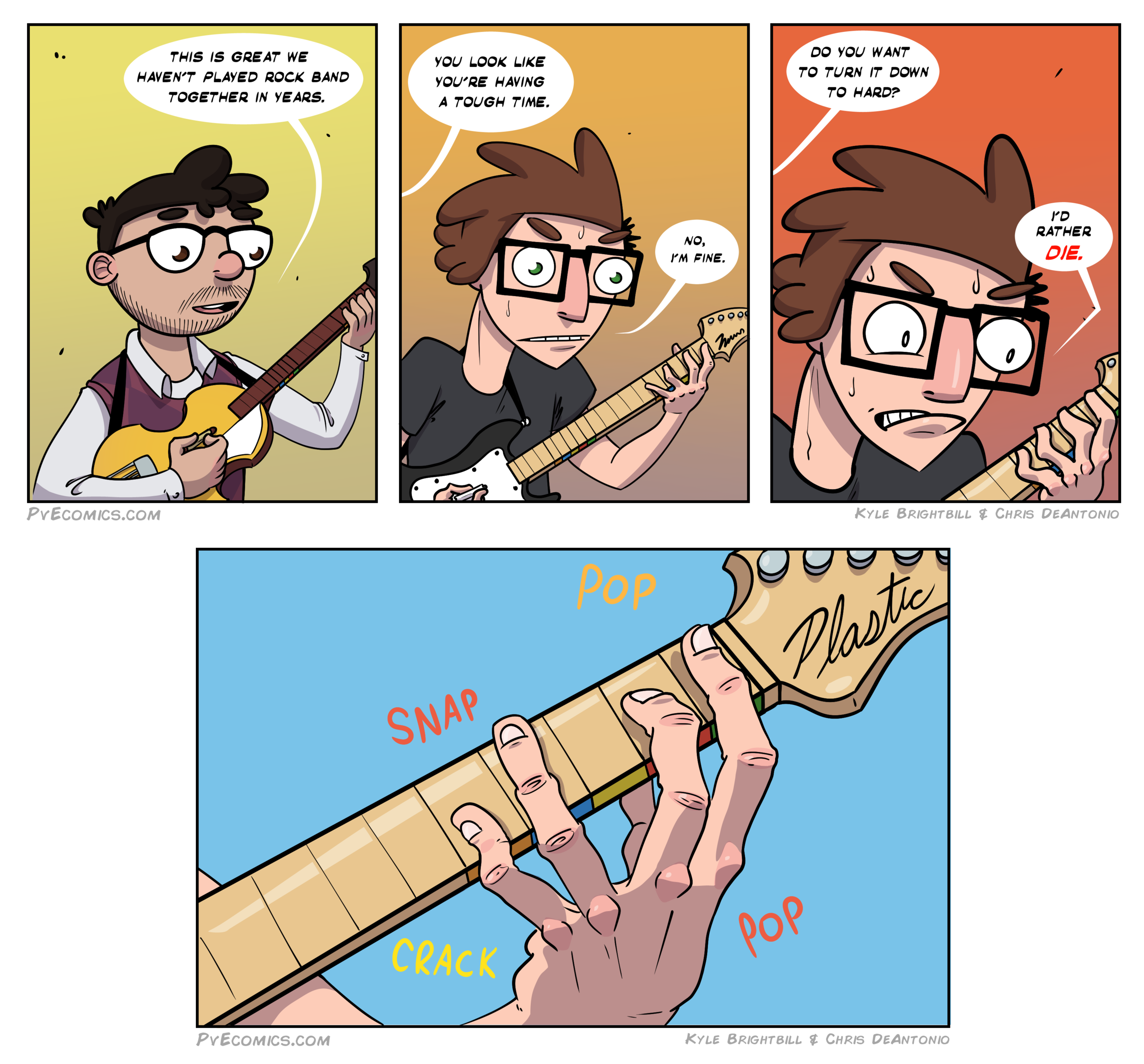 PvE Rock band comic.png